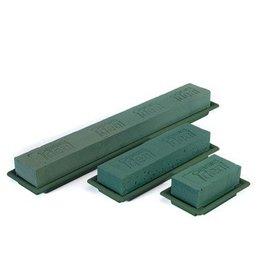 OASIS® FLORAL FOAM Table Deco Medi Groen 25x9x5cm | 8st