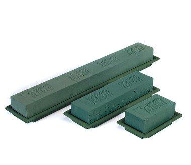 OASIS® FLORAL FOAM Table Deco Medi Groen 25x9x5cm | 8 stuks