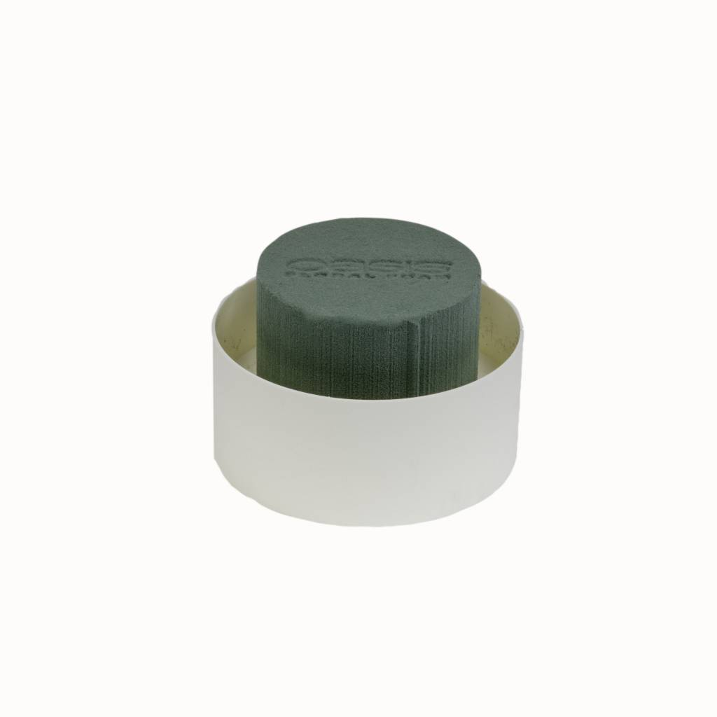 OASIS® FLORAL FOAM Table Design Viva Mini Ø11x6cm | 12 stuks