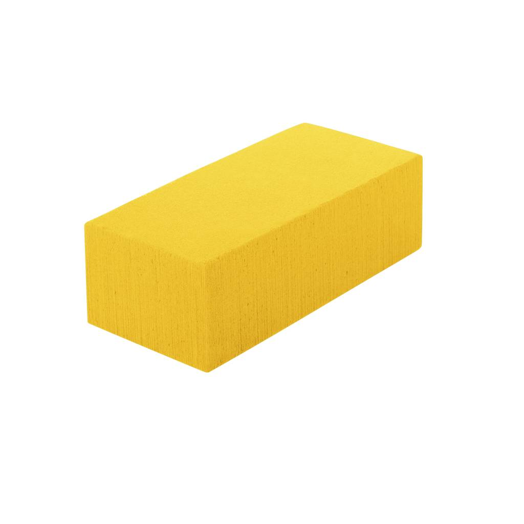 OASIS® RAINBOW® Blok 23x11x8cm - Sunny Yellow | 4 stuks