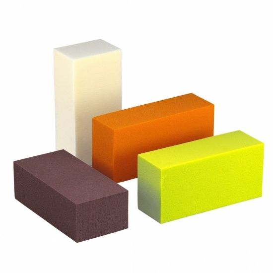 OASIS® RAINBOW® Blok 23x11x8cm - Saffran Orange | 4 stuks