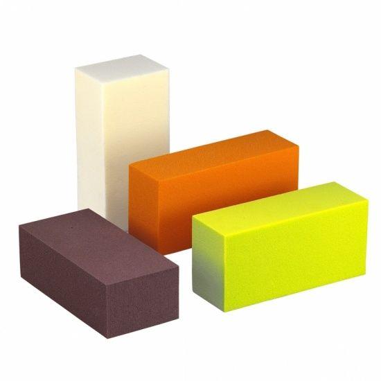 OASIS® RAINBOW® Blok 23x11x8cm - Ru stuksy Red | 4 stuks