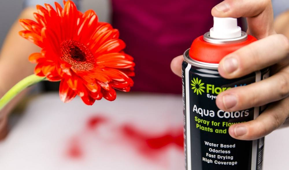 Floralife® Aqua Colors Helderrood 400ml | 1 stuks