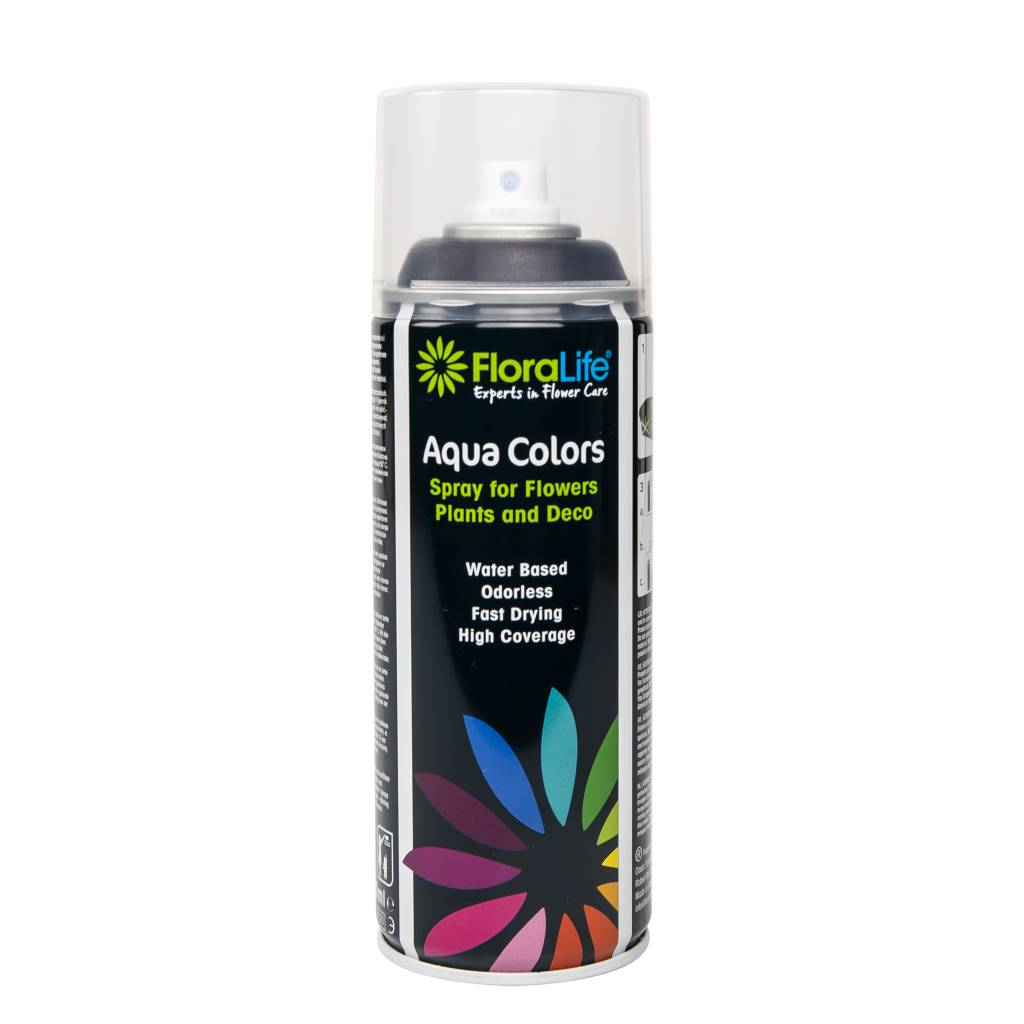 Floralife® Aqua Colors Diepzwart 400ml | 1 stuks