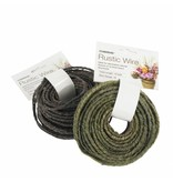 OASIS® FLORAL PRODUCTS Rustic Grapevine Wire -Green- Ø13mm x22m  | 1stuks