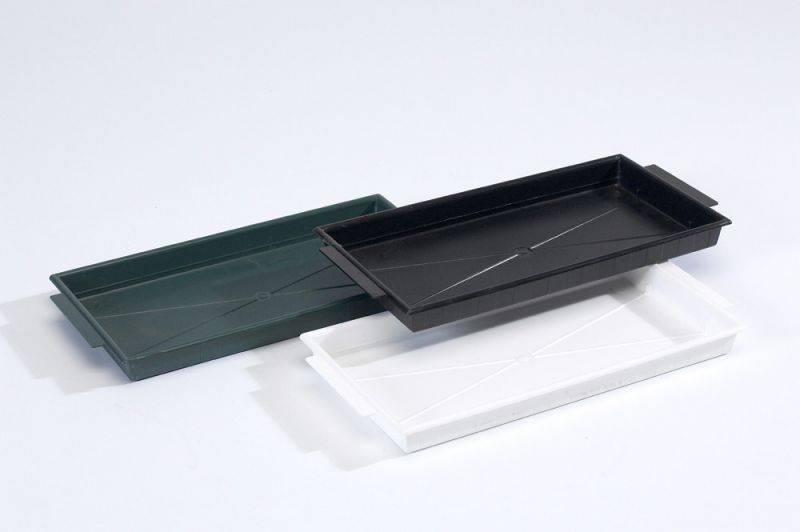 OASIS® FLORAL PRODUCTS Brick Tray - Groen 26x12,5x2cm   25 stuks