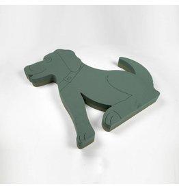 OASIS® FOAM FRAMES® Hond Zittend 60x62cm | 1st