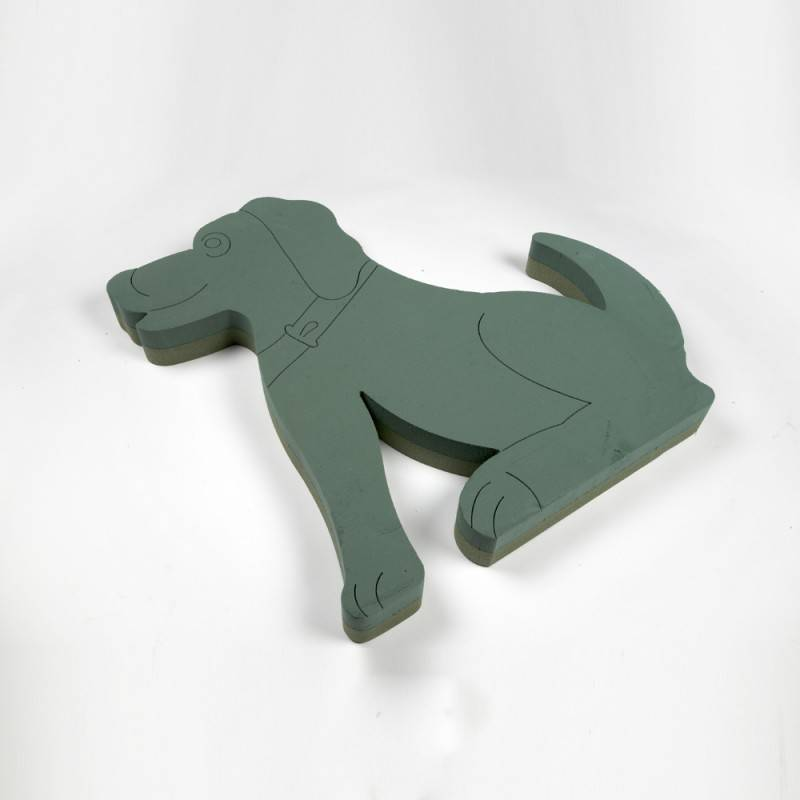 OASIS® FOAM FRAMES® Hond Zittend 60x62cm | 1 stuks