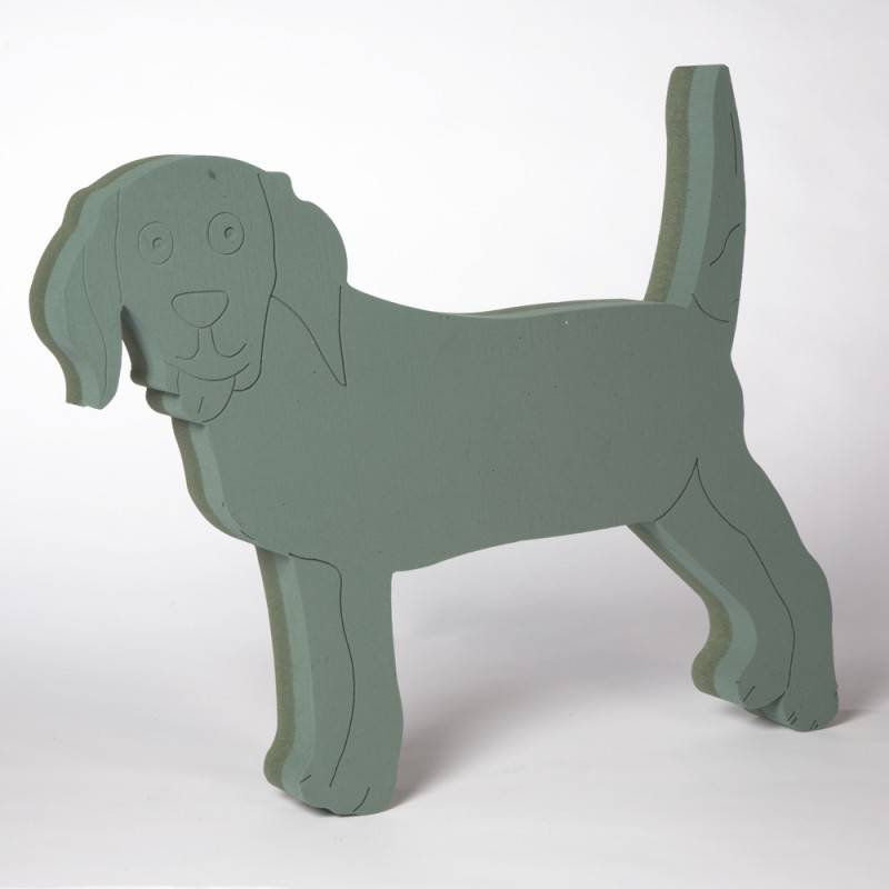 OASIS® FOAM FRAMES® Hond  stuksaand 61x52cm | 1 stuks