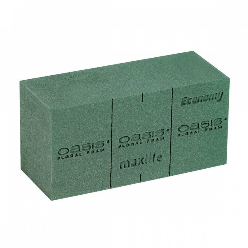 OASIS® FLORAL FOAM ECONOMY Blok Steekschuim 20x10x8cm | Doos 20 stuks
