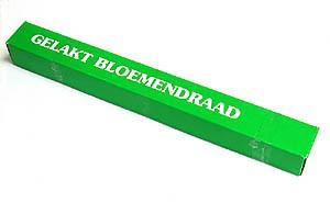 H&R Groen Gelakt Steek Draad Ø0,40x130mm | Doos 1kg