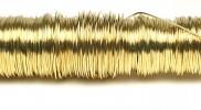 H&R Deco Lak Draad op Houten Klos Goud Ø0,50mm x50m | 100g