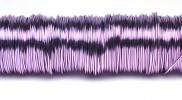 H&R Deco Lak Draad op Houten Klos Lavendel Ø0,50mm x50m | 100g