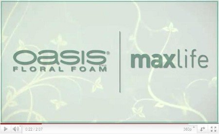 OASIS® Steekschuim Maxlife - Introductie Video