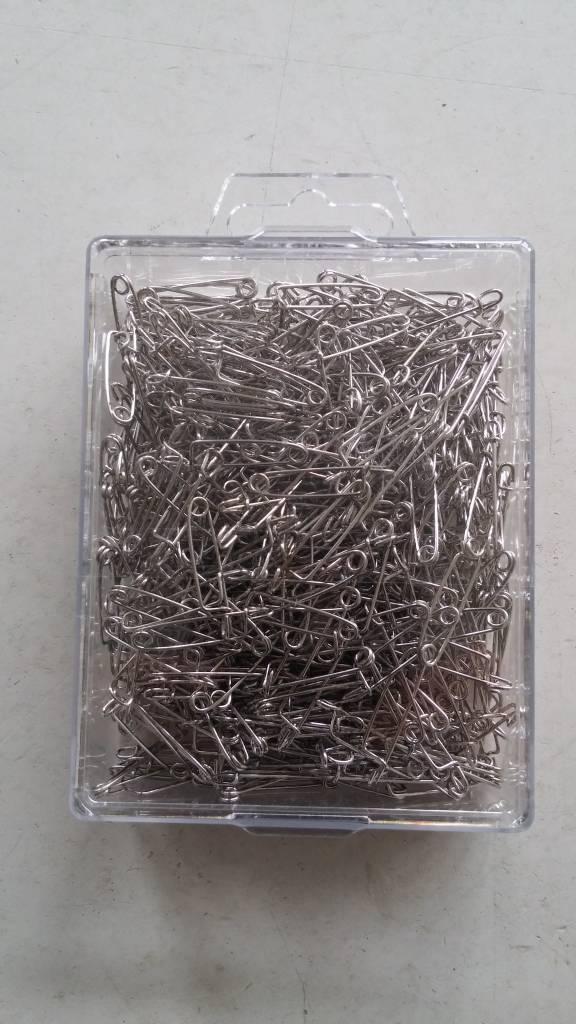 H&R Corsage Spelden Zilver 0,80x22mm | Bakje 500 Stuks