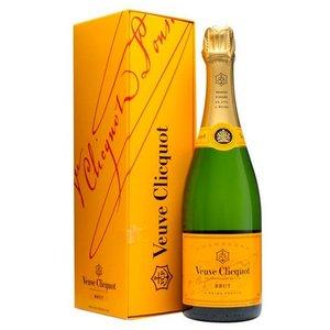 Veuve Clicquot half flesje champagne in geschenkdoos