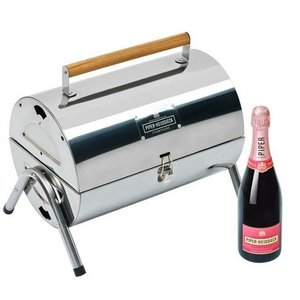 Piper-Heidsieck BBQ met Rosé Sauvage champagne