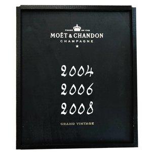 Moet & Chandon Grand Vintage 2004 - 2006 - 2008 in kist