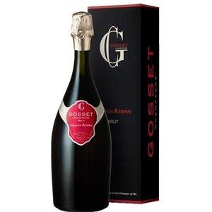 Gosset Grande Reserve champagne in geschenkdoos
