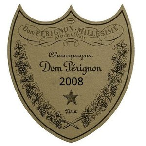 Dom Perignon 2008 vintage champagne (kaal)