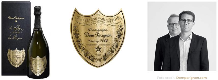 Chef du Cave Dom Pérignon 2008 Legacy Edition