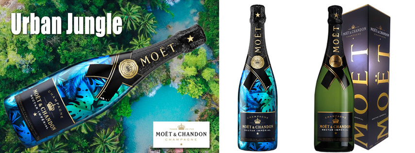 Moët & Chandon Urban Jungle champagne – de Limited Edition van 2018
