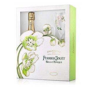 Perrier-Jouët Belle Epoque 2012 Geschenkset met glazen
