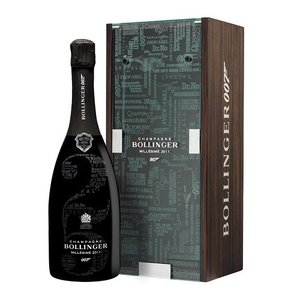 Bollinger 007 No Time To Die Limited Edition champagne