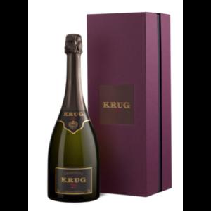 Krug Vintage champagne 2006 in coffret