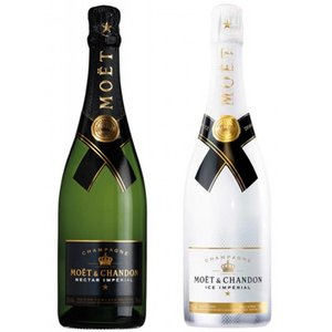 Moet & Chandon Black & White Imperial Champagne Duo