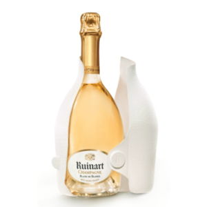 Ruinart Second Skin Case Blanc de Blancs champagne