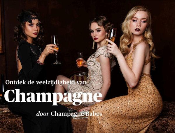Ontdek de veelzijdigheid van champagne