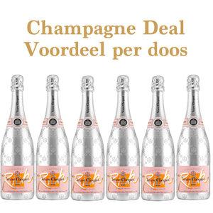 Veuve Clicquot Rich Rosé aanbieding - voordeel per doosje