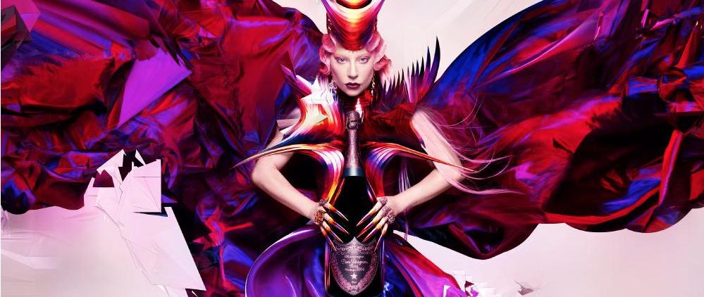 Limited! Lady Gaga XXX Dom Pérignon Artist Edition