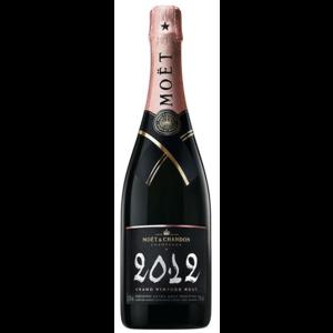 Moet & Chandon Brut Grand Vintage Rosé 2012  (kaal)