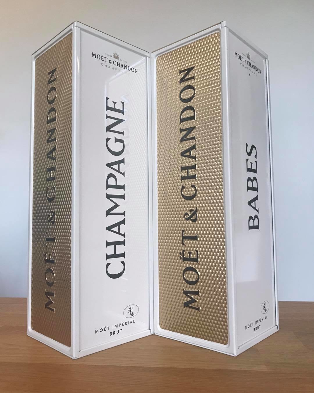 Champagne Babes Specially Yours Moet Brut Champagne