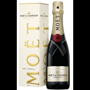 Moet & Chandon half flesje champagne in geschenkdoos
