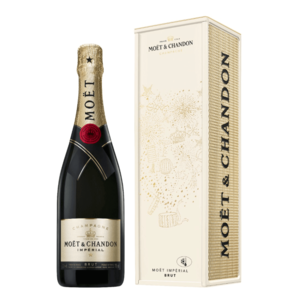 Moet & Chandon Brut champagne in DESIGN METAL GIFTBOX EDITION 2021