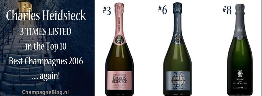 Beste champagne van 2016