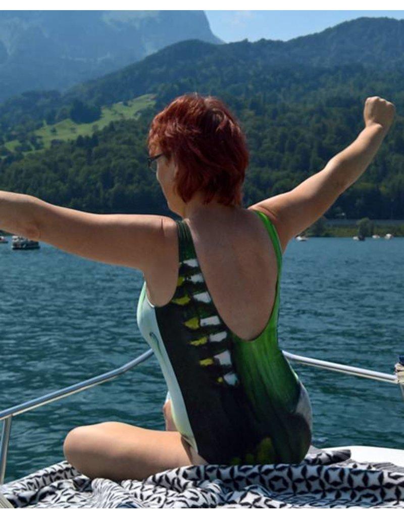 C.Fischer Charmanter Designer Badeanzug 'Weg der Hoffnung'