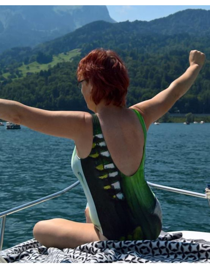 C.Fischer Wunderschöner Designer Badeanzug 'Wiese'