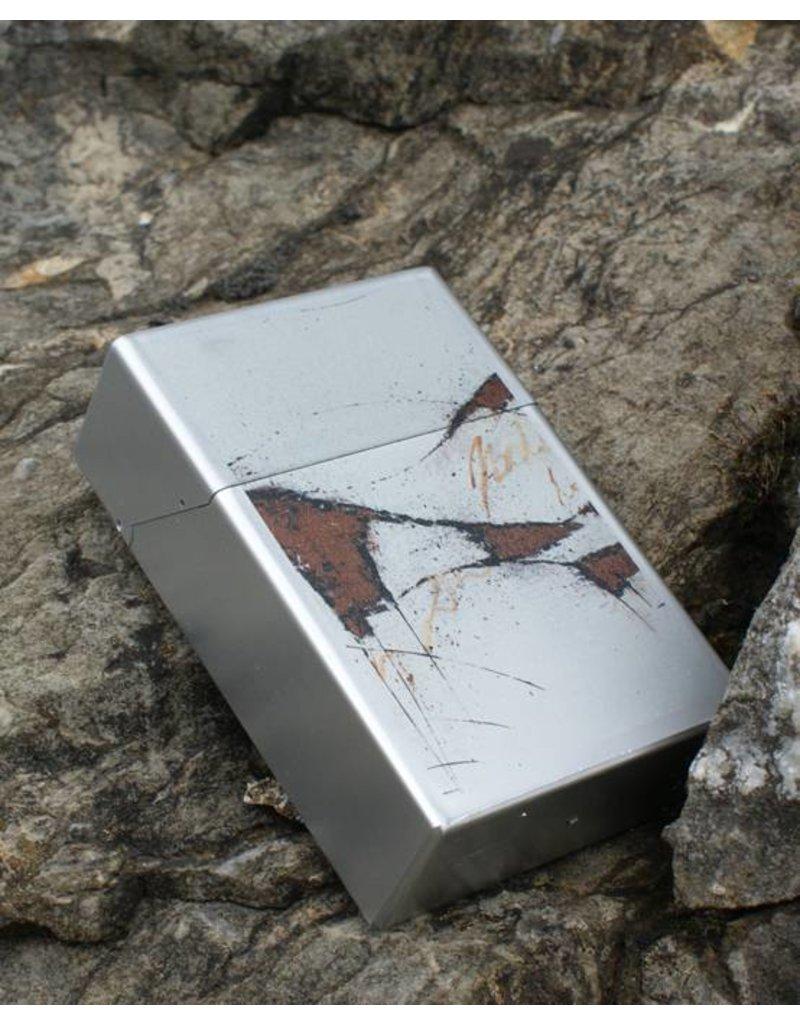 C.Fischer Designer Zigarettenbox 'Botschaft'