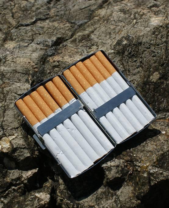 C.Fischer Modernes Designer Zigarettenetui 'Zeitgeist'
