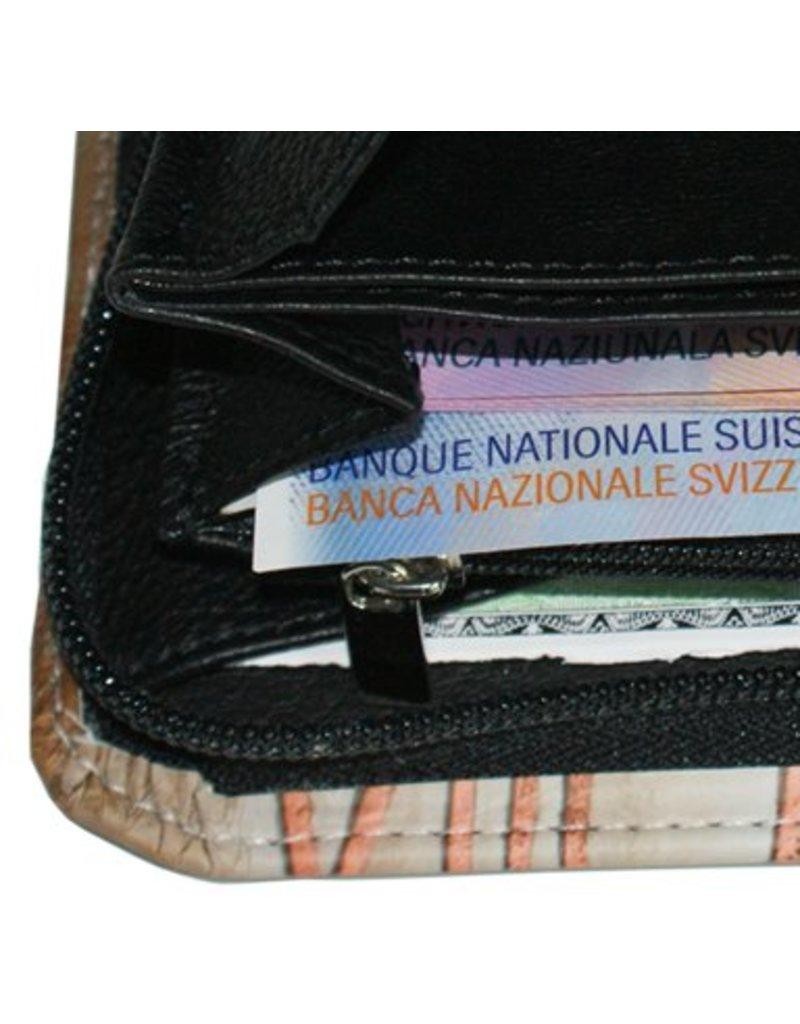 C.Fischer Luxuriöse Designer Damenbrieftasche aus Leder 'Innere Kraft'
