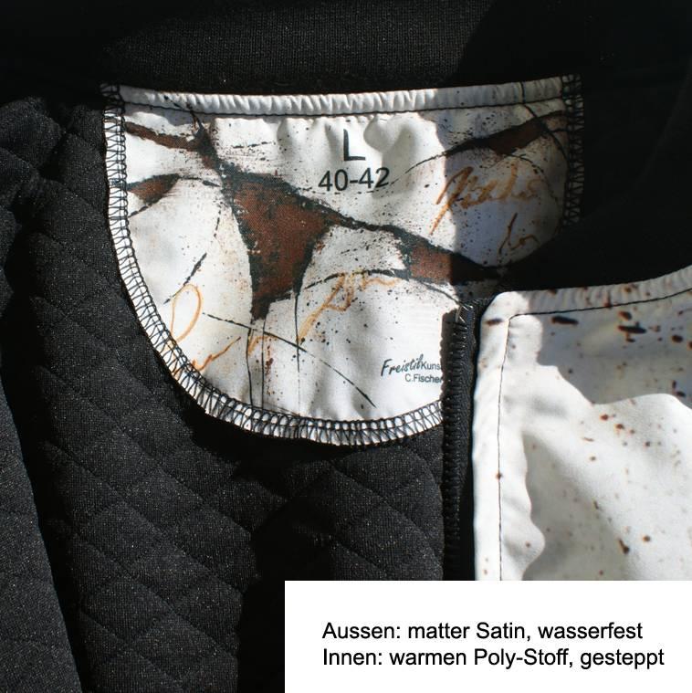 C.Fischer Faszinierende Designer Bomberjacke für Frauen 'Botschaft'
