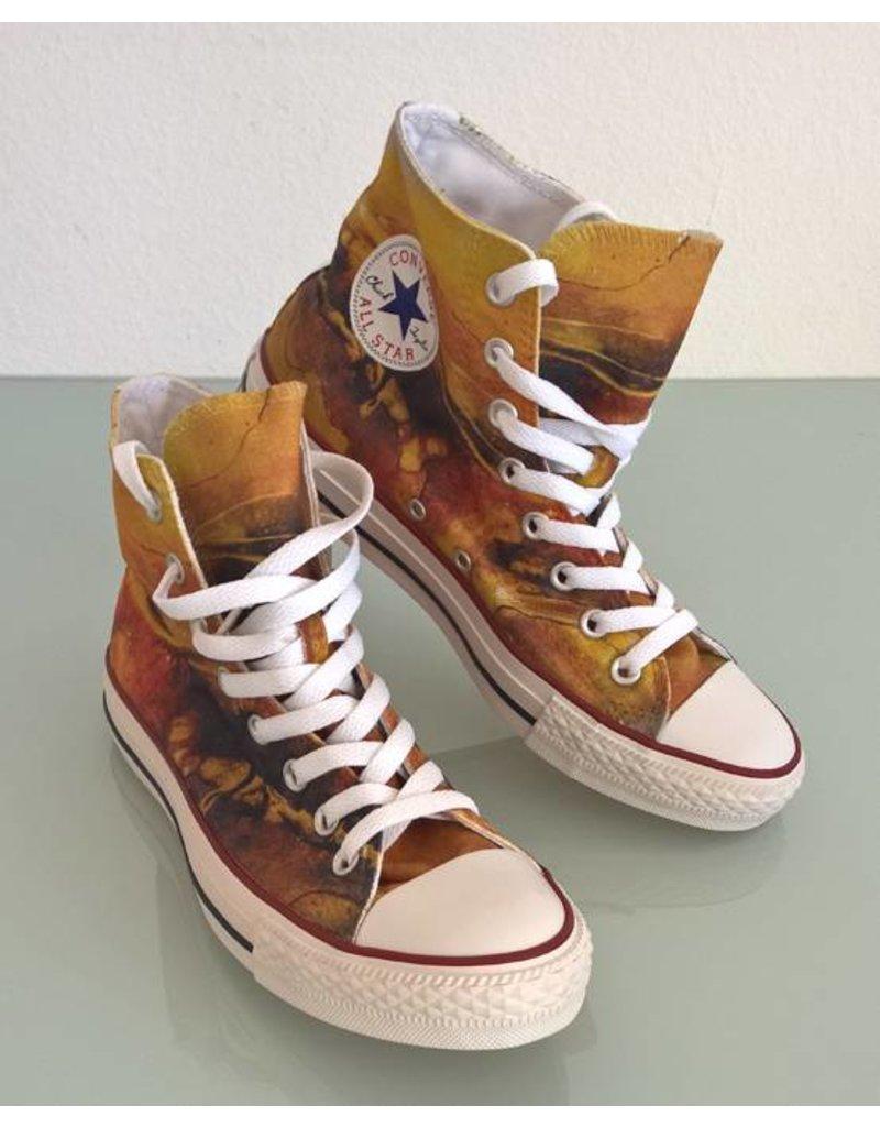 C.Fischer Designer Sneakers Converse (Chuck Taylor Low) 'Zeitgeist'