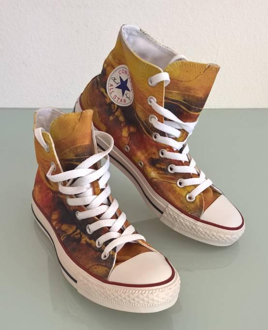 C.Fischer Designer Sneakers Converse (Chuck Taylor Low) 'Perspektive'