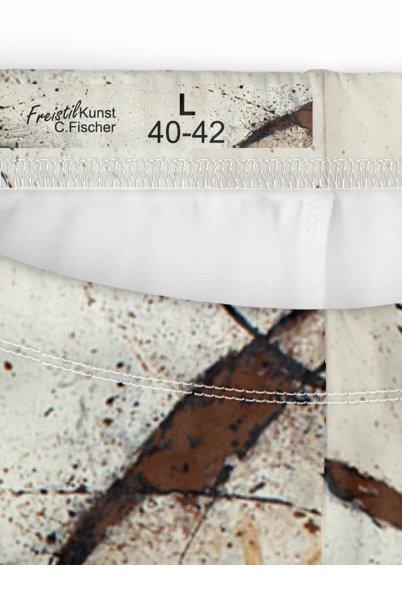 C.Fischer Attraktive Designer Hotpants 'Botschaft'