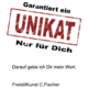 C.Fischer Bezaubernde Designer Hotpants 'innere Kraft'