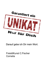 C.Fischer Stylischer Designer Turnbeutel 'Seinen Weg finden'